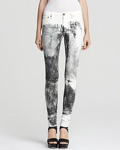 Helmut Lang Jeans - Printed 5 Pocket Skinny | Bloomingdale's