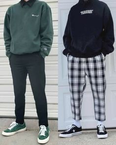 ♥ ideas fashion mens streetwear outfit for 2020 1 Retro Outfits, Mode Outfits, Grunge Outfits, Trendy Outfits, Fashion Outfits, Plad Outfits, Fresh Outfits, Fashion 90s, Cute Boy Outfits
