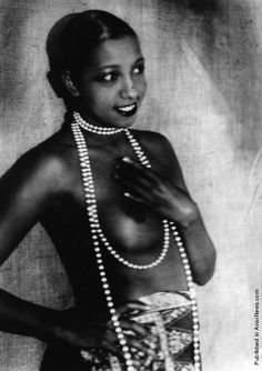 """Nicknamed the """"Bronze Venus"""", the """"Black Pearl"""", and even the """"Créole Goddess"""" Baker was the first African American female to star in a major motion picture and to become a world-famous entertainer. Contributed to the Civil Rights Movement in the United States (she was offered the unofficial leadership by Coretta Scott King in 1968 following MLK's assassination), and assisting the WWII French Resistance (first American-born woman to receive the French military honor, the Croix de guerre)."""