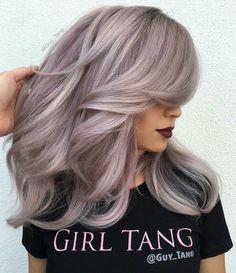 2017 Layered Haircuts and Hairstyles for Long Hair - New .- 2017 Layered Haircuts and Hairstyles for Long Hair hairstyles # 2017 - Hair Color And Cut, Cool Hair Color, Hair Colors, Lilac Hair, Ombre Hair, Silver Lavender Hair, Hair Shows, Hairstyles Haircuts, Formal Hairstyles
