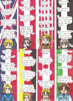Bookmarks (Country Quotes) by UnsunkenHedgehog101 on DeviantArt