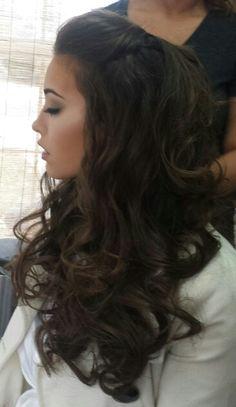 Wedding hair and make up!