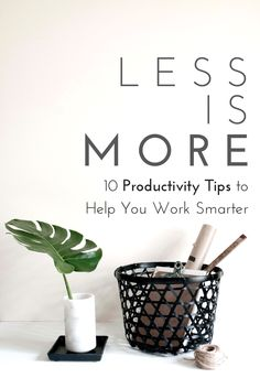 10 Productivity Tips to Help You Work Smarter http://flybluekite.com/2014/08/06/productivity-tips/