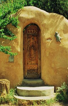 Another example of architectural components you'll find in Santa Fe.