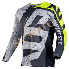 factory price 82536 2adef 2017 Motocross Jersey Motorcycle Long Sleeve Racing T Shirt Dirt Bike  Cycling DH MX ATV Jerseys -in Cycling Jerseys from Sports   Entertainment  on ...