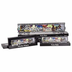 """NEW YORK CITY ORIGINAL """"Style Wars"""" collector train sets Henry Chalfant classic photo collection , updated and revamped onto 20"""" and 10"""" collectors edition train sets. the NYC Graffiti art revamp project , Brings all the classic and rare NYC subway era Graffiti train Back for a whole new  generation to enjoy. We pay our Respect to the art and artist that inspired the world of art. and a world wide movement. #graffiti #graffitiart #streetart #stylewars #trains #subwayart"""