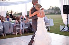 Mishelle Lamarand via Style Me PrettyThe father daughter dance is such a sweet and special tradition. Some fathers and daughters have a perfect song that means something to them or represents their relationship. If you don't already have a song in mind for your father daughter dance, here is a…