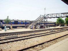 Train at Rohri Railway Station