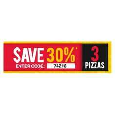 Save up to 30% OFF on Pizzas @ Domino`s Pizza - Bargain Bro