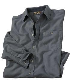 Chemise Flanelle Grey : http://www.atlasformen.fr/products/grandes-tailles/chemise-flanelle-grey/19573.aspx #atlasformen #avis