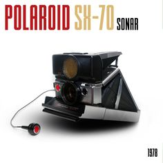 If ever there was an innovative camera it would be this one, the Polaroid SX-70 Sonar landcamera. #camera #polaroid #SX70 #photography #analogephotography #style #vintage #1978 #dribetribe