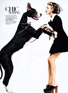 Model Anja Rubik, photographer Greg Kadel for Harper's Bazaar, US, January 2010