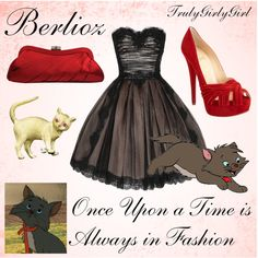 """Disney Style: Berlioz"" by trulygirlygirl on Polyvore"