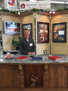 Trafton Buiilders, a long time exhibitor of the Fresno Home & Garden Show, All contractors at the show are licensed and in good standing with the state at the time of approval. March 2016
