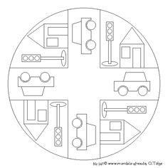 Series free mandala templates to print off and colour in. Sports Coloring Pages, Colouring Pages, Coloring Books, Listening Games, Construction Worker, Applique Patterns, Kids And Parenting, Baby Quilts, Art Lessons