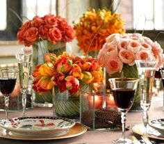 Create a dreamy, artful centerpiece for your seasonal gathering with these easy tips.