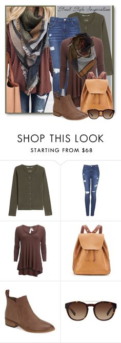 """""""Street Style Inspiration"""" by brendariley-1 ❤ liked on Polyvore featuring 81hours, Topshop, Free People, BP., CRU, Dolce Vita and Dolce&Gabbana"""