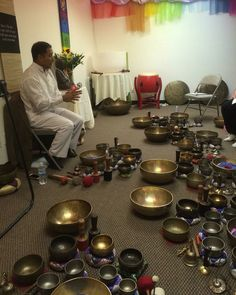 Sound healing with crystal and Himalayan singing bowls has become a huge passion of mine. I have been studying under a wonderful person named Suren Shrestha and I'm proud to call him my teacher and friend. I'm now officially certified in Level 1 Chakra Singing Bowl Therapy! #soundhealing #soundtherapy #singingbowl #singingbowls #crystalbowl #crystalbowls #crystals #crystalhealing #meditation #sacredspace #vibration #healing #vibrationalentrainment