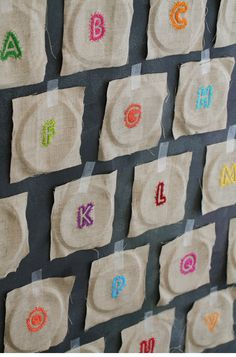 more embroidered letters