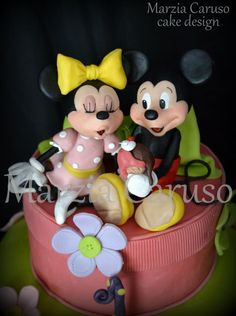 Mickey & Minnie Mouse Cake