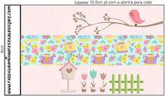 Dicas pra Mamãe: Kit de festa Personalizado com tema Jardim Encantado Minecraft Crafts, Shabby, Diagram, Map, Home Decor, Silhouette, Shower, Party Kit, Sweet Like Candy