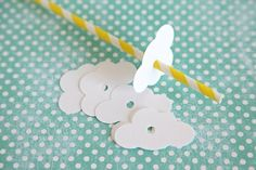 Baby Shower Theme Cloud Straw Cloud embellishment Rainy by Unify Cloud Party, Baby Boy Themes, Flower Shower, Baby Party, Birthday Balloons, Unicorn Party, Baby Birthday, Baby Boy Shower, First Birthdays