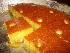 lila's taste: Ραβανί Βέροιας..δια χειρός Μαμαλάκη.. Greek Sweets, Greek Desserts, Greek Recipes, Cypriot Food, Greek Pastries, Greek Cooking, My Cookbook, Sweets Recipes, Yummy Cakes