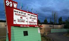 drive in movie theater newberg oregon Newberg Oregon, Good Drive, Oregon Living, Drive In Movie Theater, Willamette Valley, Oregon Travel, Wine Country, Day Trips, Portland