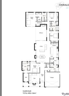 Cabin House Plans, Best House Plans, Dream House Plans, Small House Plans, House Floor Plans, Home Design Plans, Plan Design, Architectural Floor Plans, Porch Flooring