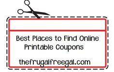 Best Places to Find Online Printable Coupons