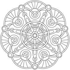 Kleurplaat Cathedral_mandala_coloring_pages.jpg