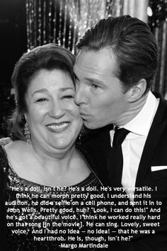 Margo Martindale about Ben