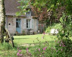 Maison Escargot, Domaine de Villette; an intimate doll's house for two. #france #travel #cottage
