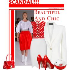 """""""Scandal"""" by mzbossyfashions11 on Polyvore"""