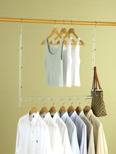 A literal closet doubler that makes the most out of your space.