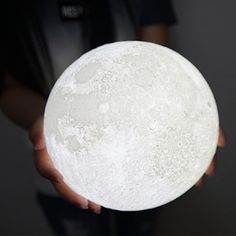 Access Control Self-Conscious Moon Light 3d Printed Moon Globe Lamp 2 Colors 3d Glowing Moon Lamp With Stand Touch Control Brightness Usb Charging