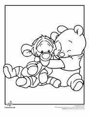 Baby Winnie the Pooh and tigger too