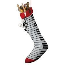 keyboard christmas stocking
