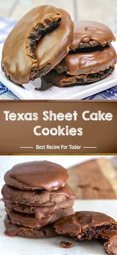 #desserts #dessertrecipes #desserttable #dessertfoodrecipes Chocolate Cake Mix Cookies, Yummy Cookies, Cake Cookies, Cookie Desserts, Fun Desserts, Cookie Recipes, Cupcakes, Cupcake Cakes, Best Dessert Recipes