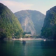Freedom Island, off the coast of Cat Ba Island, Halong Bay Vietnam Cat Ba Island, Ha Long, Southeast Asia, Backpacking, Vietnam, Freedom, Coast, Spaces, Explore
