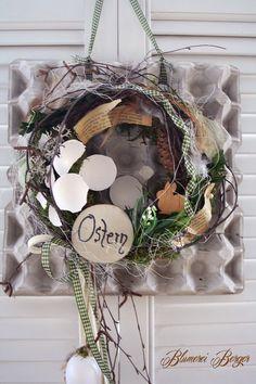 1422795199 395 Kitchen Ornaments, Creative Thinking, Grapevine Wreath, Easter, Wreaths, Etsy, Flowers, Inspiration, Kindergarten