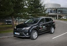 TOYOTA GB SUPPORTS BEN WITH NEW RAV4