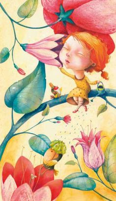 :: Sweet Illustrated Storytime ::  Illustration by Sonja Wimmer