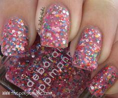 Deborah Lippmann Candy Shop & Forget You Swatches! Candy Crush Nails, Deborah Lippmann Nail Polish, Nail Polish Colors, Nail Polishes, Nails Inc, Essie, Opi, Candy Shop, Makeup Organization