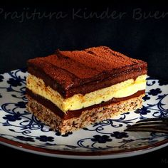 Reteta Prajitura Kinder Bueno Creme Caramel, Nutella, Tiramisu, Biscuit, Picnic, Ethnic Recipes, Desserts, Food, Pies
