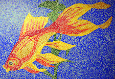 Put this at the bottom of your pool for the ultimate underwater experience Pool Mosaic Tiles, Mosaic Art, Blue Pool, Outdoor Tiles, Modern Pools, Pool Designs, Underwater, Outdoor Living, Colour