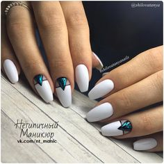 With nails