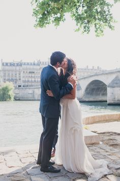 Destination Wedding in Paris from Mademoiselle Fiona  Read more - http://www.stylemepretty.com/2013/11/07/destination-wedding-in-paris-from-mademoiselle-fiona/
