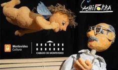 Títeres Cachiporra: El angelito de la fuente. Cabildo de Montevideo, Uruguay