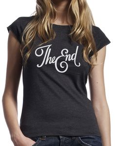 "Remera Kaia impresa ""The End""."